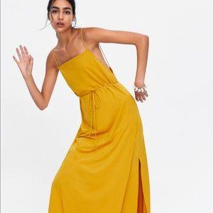 NWT Zara maxi dress